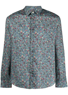 Paul Smith small floral print cotton shirt