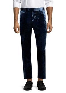 Paul Smith Soho Tailored-Fit Velvet Trousers