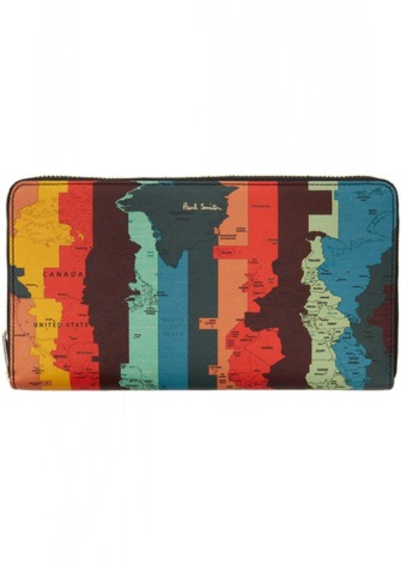 Paul Smith SSENSE Exclusive Multicolor Travel Wallet