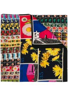 Paul Smith stamp print scarf