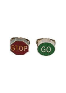 Paul Smith Stop Go cufflinks