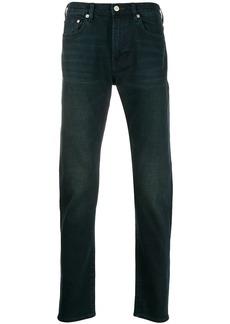 Paul Smith straight-leg stonewashed jeans