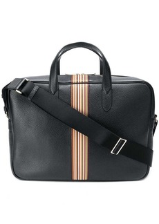 Paul Smith stripe detail briefcase