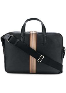 Paul Smith stripe detail laptop bag