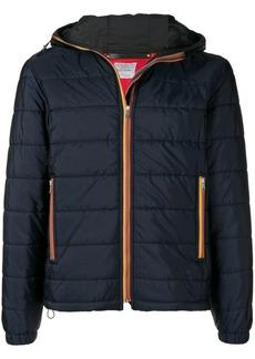Paul Smith stripe trim padded jacket