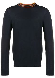 Paul Smith striped detail jumper