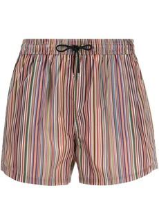 Paul Smith striped drawstring shorts