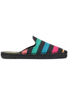 Paul Smith striped espadrille mules