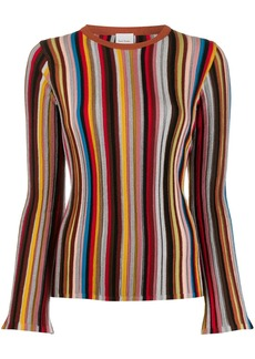 Paul Smith striped fitted jumper