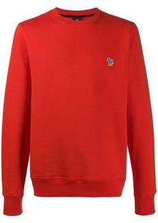 Paul Smith striped-horse long-sleeved sweatshirt