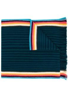 Paul Smith striped knit scarf