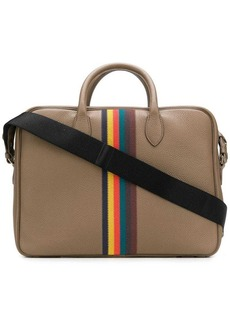 Paul Smith striped laptop bag
