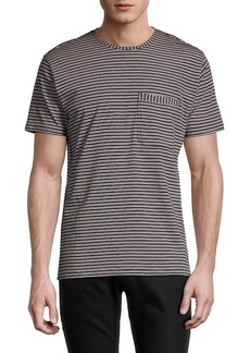Paul Smith Striped Organic Cotton T-Shirt