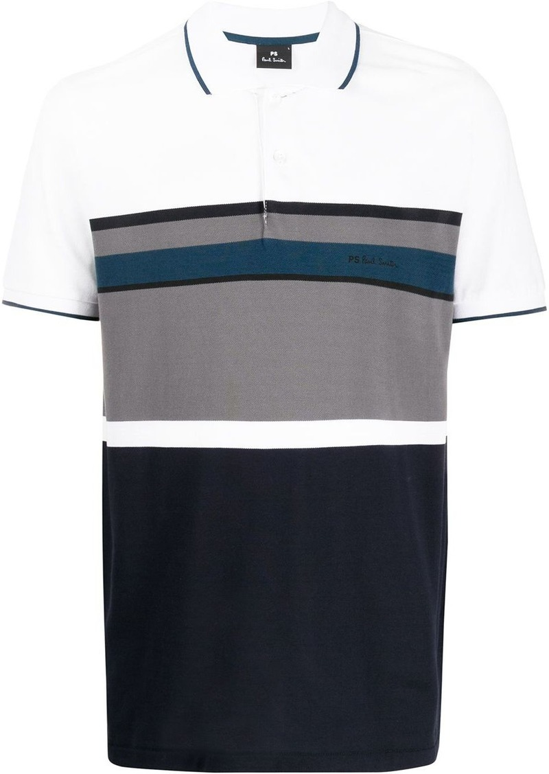 Paul Smith striped polo shirt