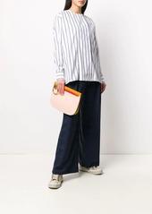Paul Smith striped-print long-sleeved shirt