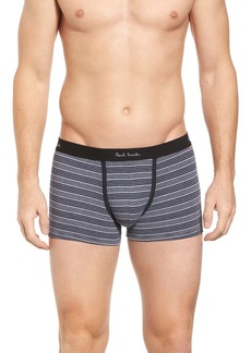 Paul Smith Striped Stretch Cotton Trunks