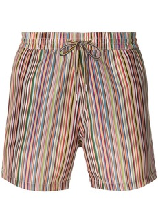 Paul Smith striped swim shorts