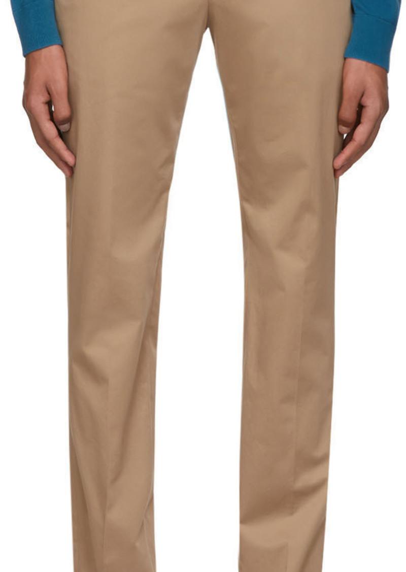 Paul Smith Tan Chino Slim Trousers