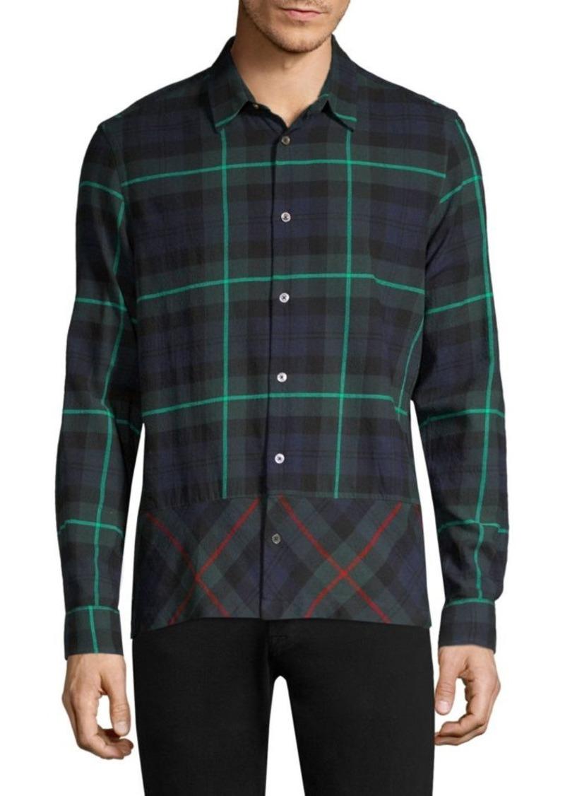 Paul Smith Tartan Button-Down Shirt