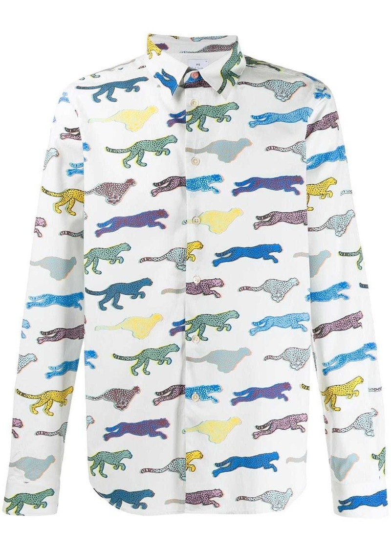 Paul Smith Tiger print shirt