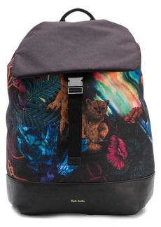 Paul Smith tropical print backpack