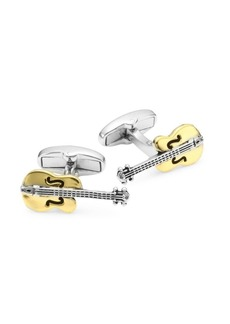 Paul Smith Two-Tone Guitar Cufflinks