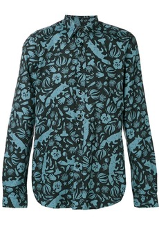 Paul Smith 'Urban fox' print shirt
