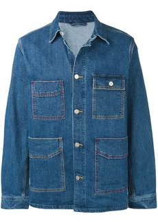 Paul Smith 'Vintage Stretch' denim chore jacket