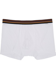 Paul Smith White Artist Stripe Boxers