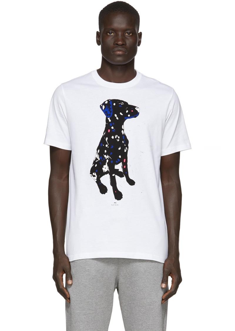 Paul Smith White Dalmation T-Shirt