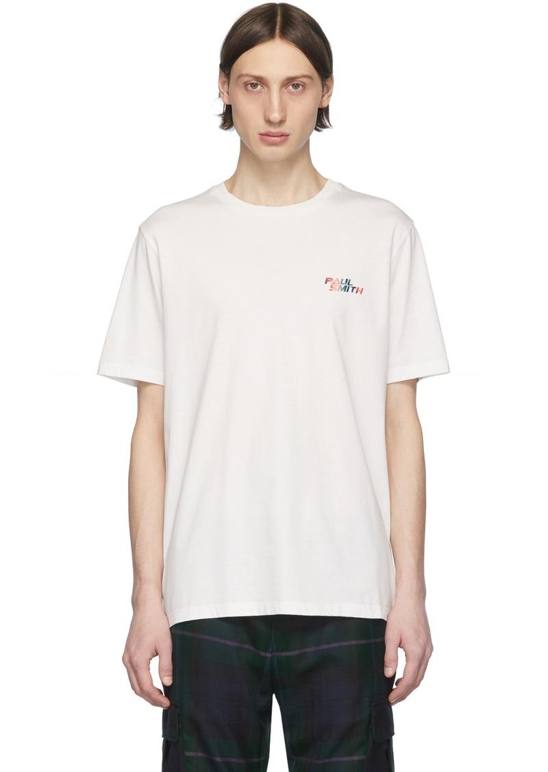 Paul Smith White Logo T-Shirt