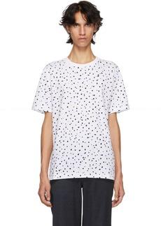 Paul Smith White Regular Fit Polka Dot T-Shirt