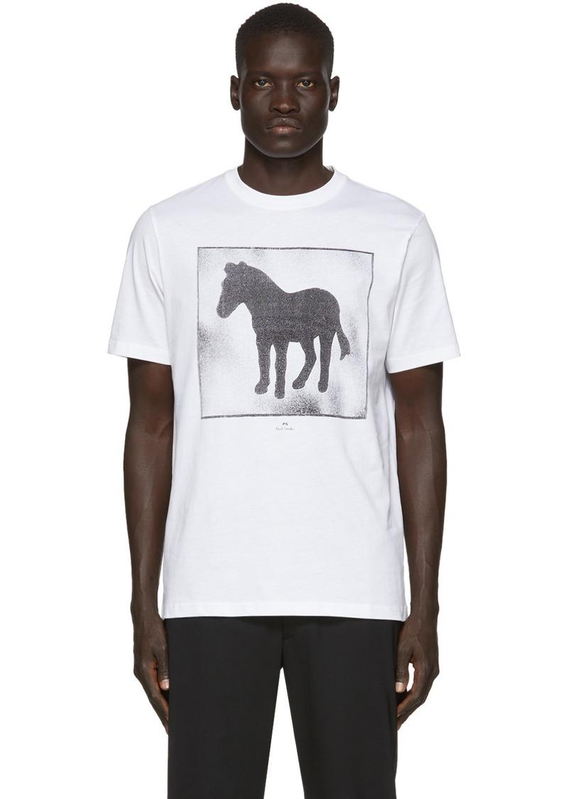 Paul Smith White Zebra Box T-Shirt