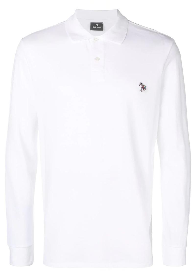 Paul Smith zebra logo polo shirt