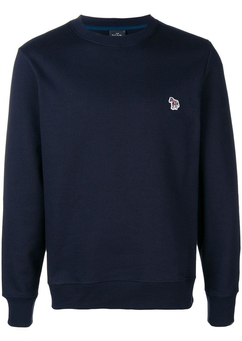 Paul Smith zebra motif sweatshirt