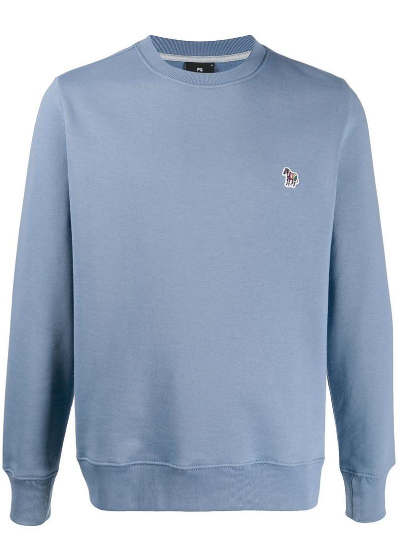 Paul Smith zebra patch crew-neck sweatshirt