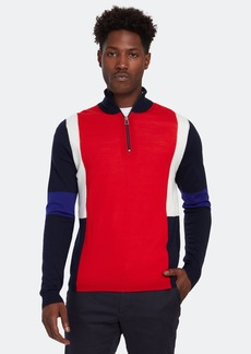 Paul Smith Zip Neck Pullover - XXL - Also in: XL, S, L