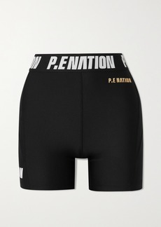 P.E Nation Agility Printed Recycled Stretch Shorts