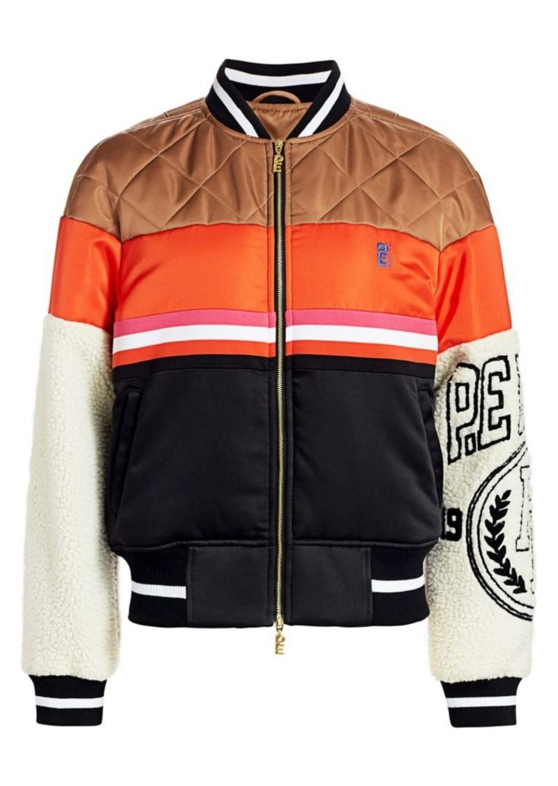 P.E Nation Collegiate Squad Jacket
