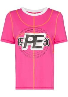 P.E Nation double dribble logo T-shirt