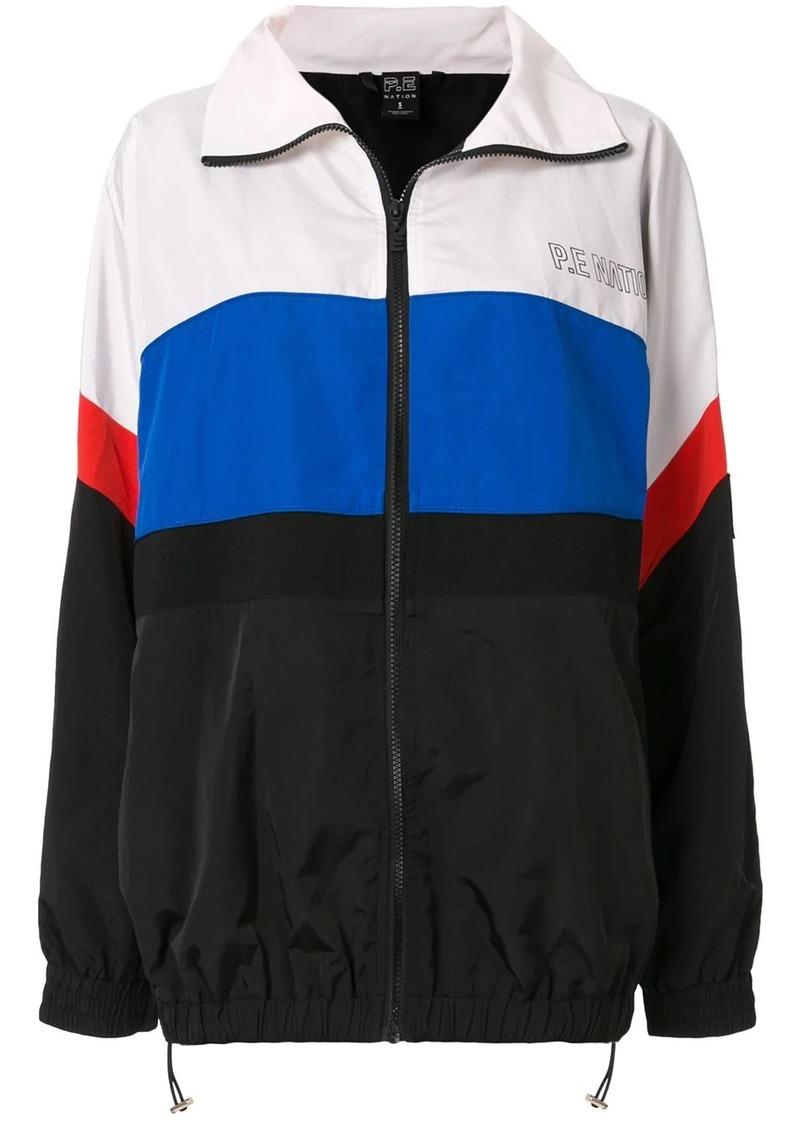 P.E Nation Flexi-it colour block jacket