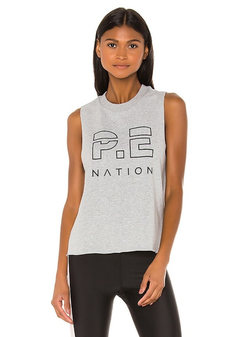 P.E Nation Throw In The Towel Tank