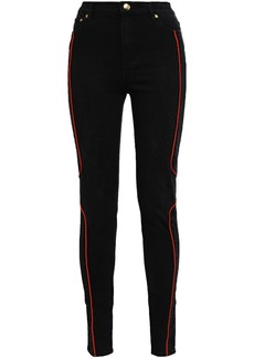 P.e Nation Woman Cup Of Nations High-rise Skinny Jeans Black