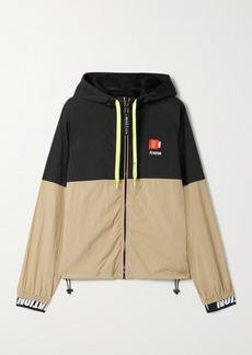 P.E Nation Propel Hooded Two-tone Shell Jacket