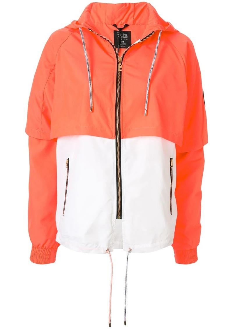P.E Nation Rebuild hooded shell jacket