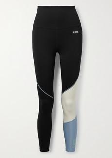 P.E Nation Retriever Appliqued Color-block Stretch Leggings