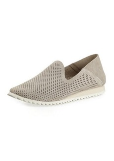Pedro Garcia Cristiane Perforated Suede Sneakers