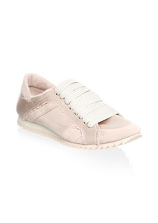 Pedro Garcia Cristina Satin Trainer Sneakers
