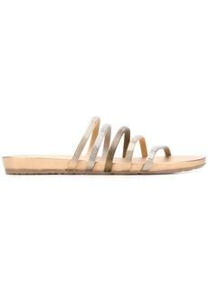Pedro Garcia Gala crystal embellished flat sandals