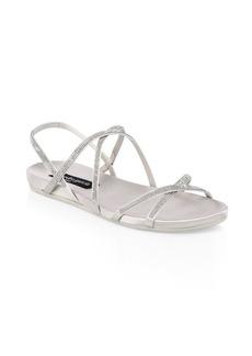 Pedro Garcia Genv Embellished Sandals